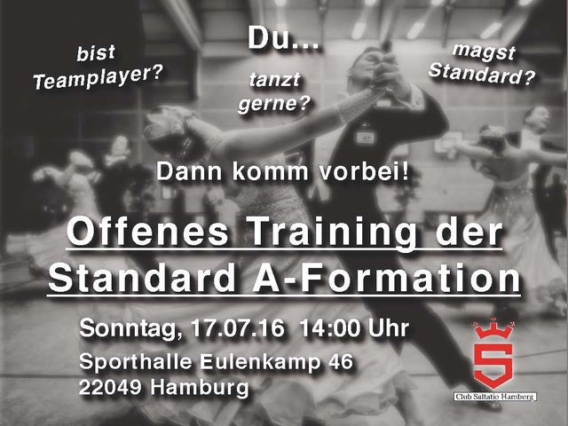 Flyer Probetraining